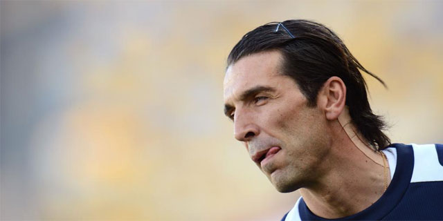 Gianluigi Buffon, portero de la seleccin italiana. (AFP)