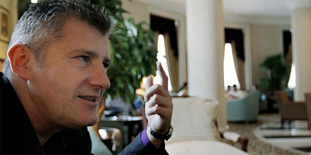 Davor Suker, durante una entrevista. (AFP)