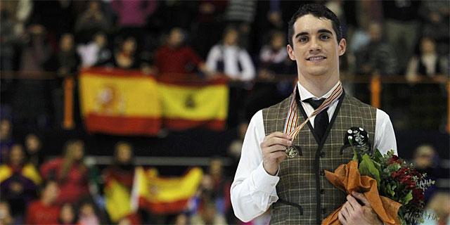 Javi Fernández campeón de Europa en Patinaje sobre hielo 1359216264_0