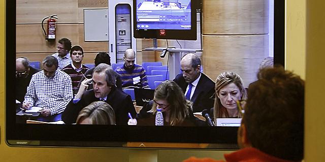 Imagen del Juzgado durante una de las vistas de la operación Puerto. | EFE