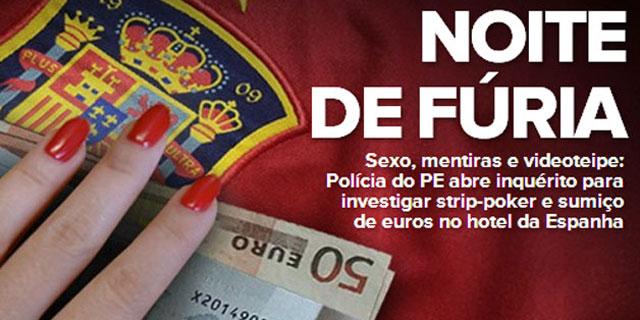 Portada de la publicación brasileña 'Globoesporte'.