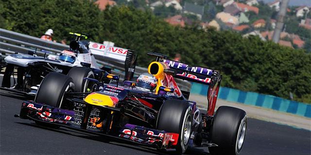 Sebastian Vettel, durante la sesión de entrenamientos libres. | AFP