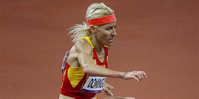 Marta Domínguez, durante los Juegos Olímpicos de Londres. | Efe