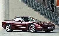 2003. En 1997, en el Salón de Detroit, GM presentó la quinta generación el C5. Con una tecnología muy sofisticada, el más destacable fue el que en 2003 se lanzó para celebrar el 50 aniversario. Este modelo era rojo y las llantas color champaña.