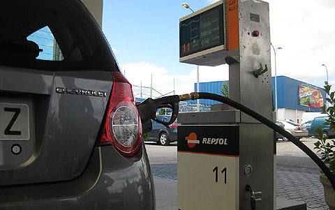El gasto de la gasolina del inyector de los floreros 2107