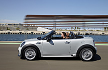 Roadster, el primer cabrio biplaza de Mini