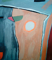 Uno de los cuadros que ha pintado Milagros