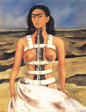 'la columna rota', de Frida Kahlo