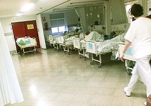 Urgencias de un hospital sevillano (Foto: El Mundo)