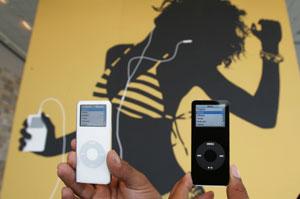 Modelos de iPod. (Foto: Ap)