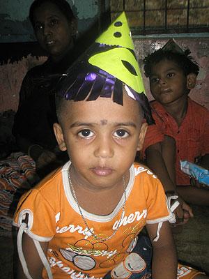 Saphina, de seis años, una de las niñas del 'slum'. (Fotos: I.F.L) Vea el álbum de fotos