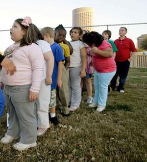 Centro médico en EEUU para niños con obesidad. (Foto: Ap)