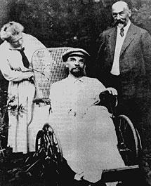 Última foto de Lenin con vida.