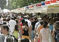 El ambiente de la Feria del Libro del año pasado. (Foto: Antonio Heredia)