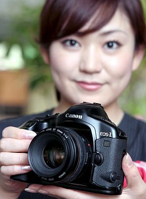 La fotografía digital es la punta de lanza del gigante japonés. (EFE)