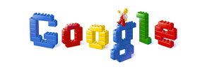 O Google e os legos!