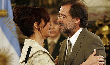 El nuevo ministro de Economía argentino, durante su toma de posesión. (Foto: EFE)