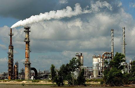 Planta de Chevron en Louisiana, Estados Unidos. (Foto: AFP)