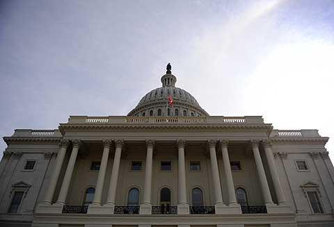 El Capitolio de EEUU, que alberga el Congreso y el Senado. (Foto: AFP)