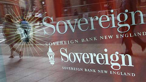 Instalaciones del banco Sovereign en Boston. (Foto: AP)