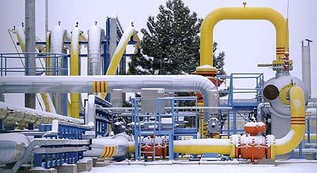 Una estación de gas en Eslovaquia. (Foto: AFP)
