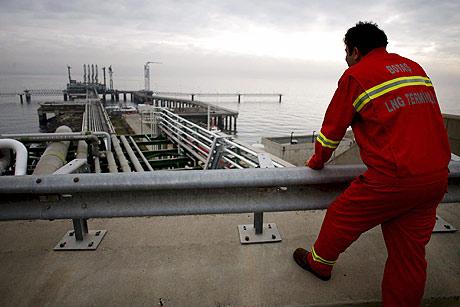 Instalaciones de BOTAS (Corporación de Oleducto de Petróleo) al este de Estambul. (Foto: EFE)