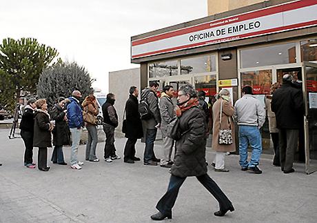 España encabeza la subida del paro en la Unión Europea.|EL MUNDO