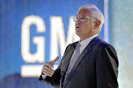 El vicepresidente de General Motors, Bob Lutz. (Foto: AFP)