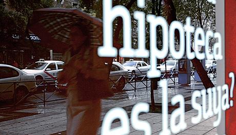 Campaña de una entidad bancaria sobre hipotecas. | Antonio Heredia