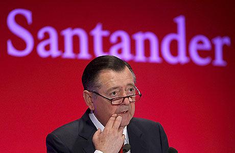 Alfredo Sáenz, actual consejero delegado del Grupo Santander. | Ju