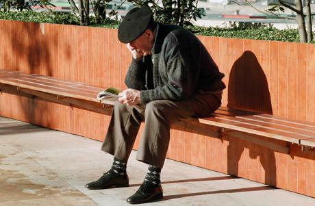Un hombre jubilado. | Mitxi