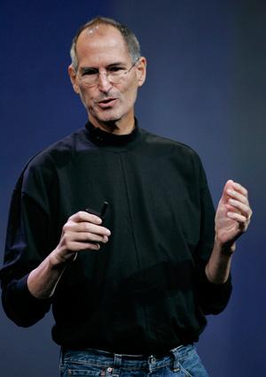 Steve Jobs, visiblemente delgado, en septiembre del año pasado. (Foto: AP)