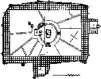 Al descubierto. Este es el plano de La Meca, Arabia Saudí, realizado por Badía tras visitar el santo lugar disfrazado de musulmán.
