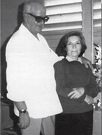 Ramón y Roquelia en 1978.