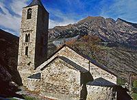 Sant Joan di Boí conserva un'abside ed il campanile.AGE FOTOSTOCK dal web originale