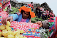 Fiesta por la buena cosecha celebrada en Cochacochayoc.