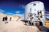 Vacaciones en el planeta Marte