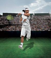 Norma. Nadal tendrá que vestir este blanco atuendo en Wimbledon.