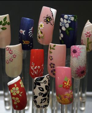 Uñas decoradas, tendencia oriental FOTO Quique Fidalgo.