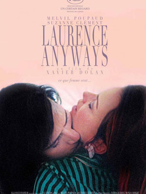 Cartel de la película 'Laurence Anyways'.