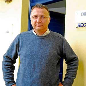 El director del CP Mestre Guillemet, Miquel Coll (Foto: Cati Cladera)