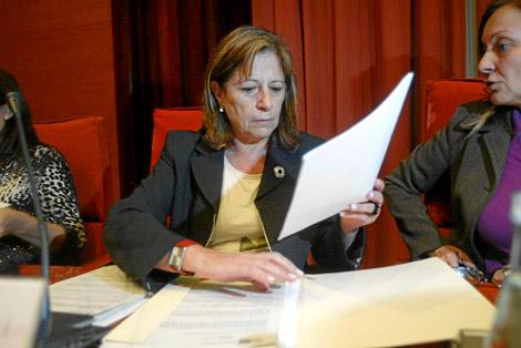 Capdevila, en un acto de la conselleria.   Quique García