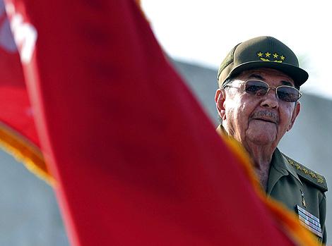 EL presidente de Cuba, Raúl Castro, en una de sus últimas paraciones públicas. | Efe