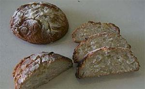 Pan elaborado a partir de harina de arroz por el CSIC para celíacos. (Fotos: CSIC)