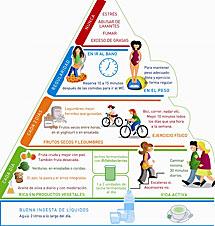Pirámide nutricional.   Foto: El Mundo